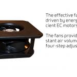 Comfort CT150 - effective fans