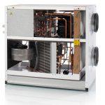 VPL 15 - luft luft ventilationsaggragat åben
