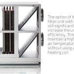 VPL 28 - FU 28 filterunit with heat pipe