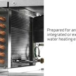 integrated or external water heating element